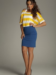 Short skirt model 10106 Figl