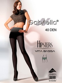 Rajstopy Hipsters code 115 40DEN (6 Colours) - Gabriella